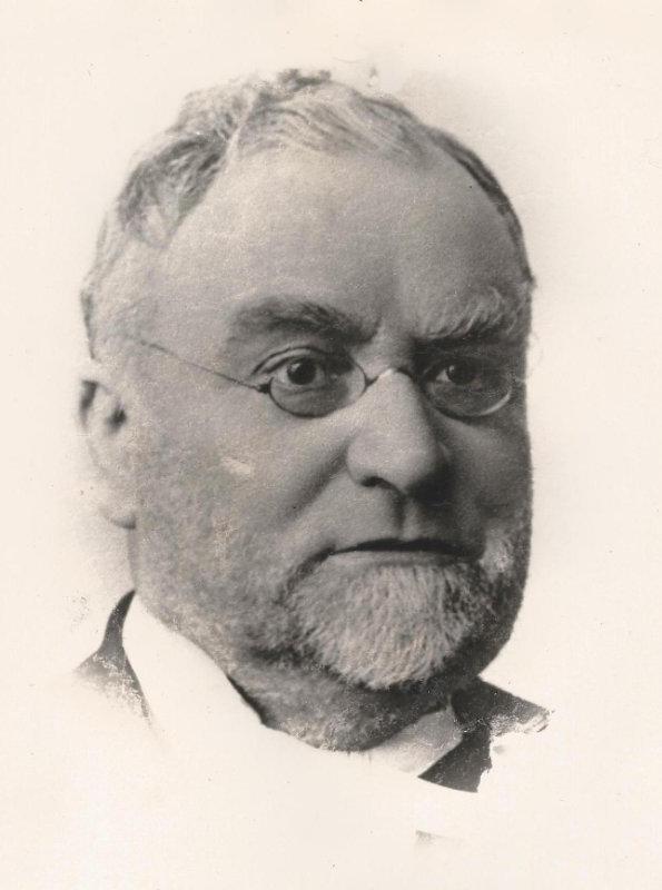 Pastor Diedrich Wilhelm Müller (1848–1919)
